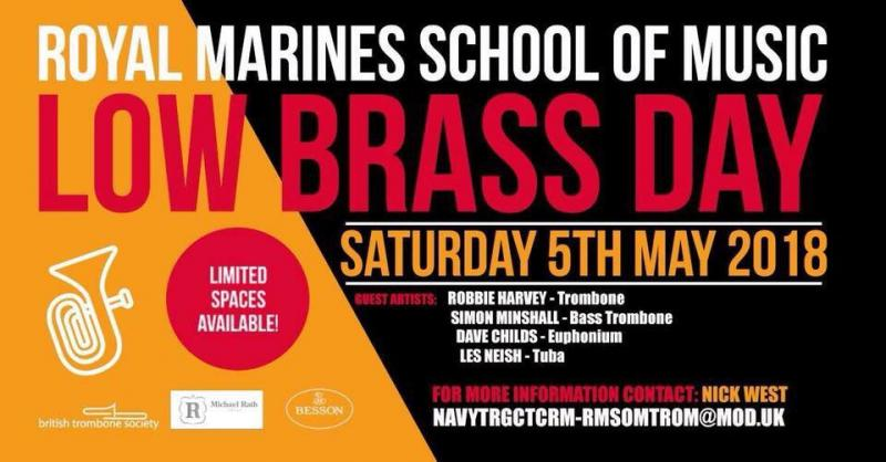 Low Brass Day at the Royal Marines School of Music